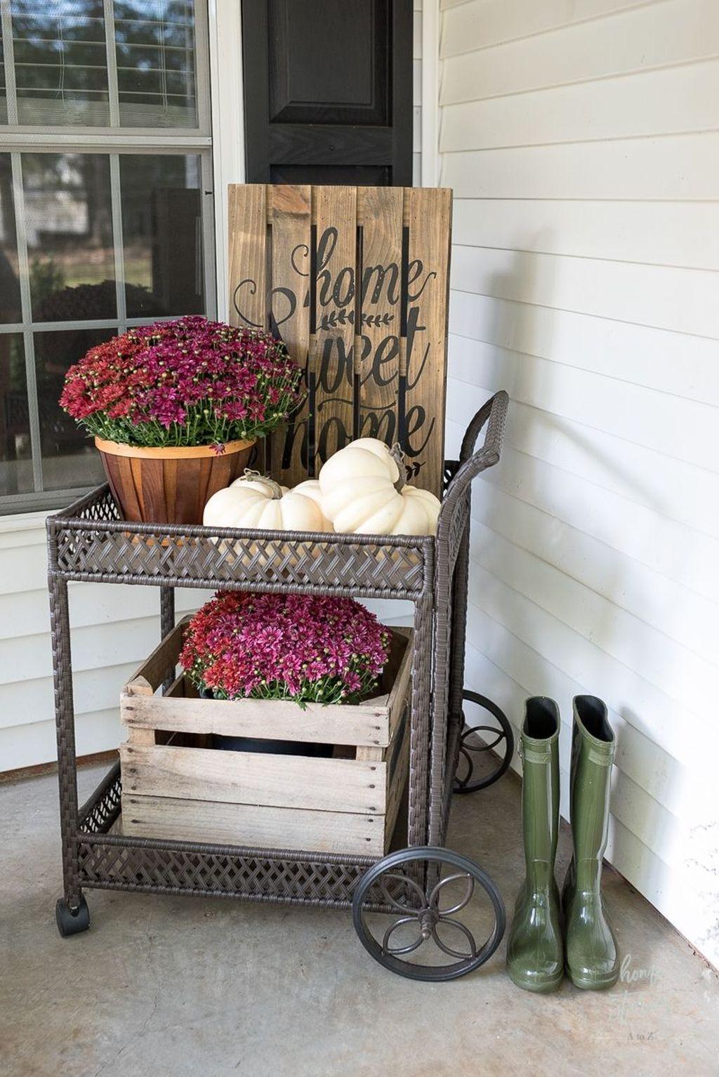 The Best Spring Porch Decoration Ideas 42