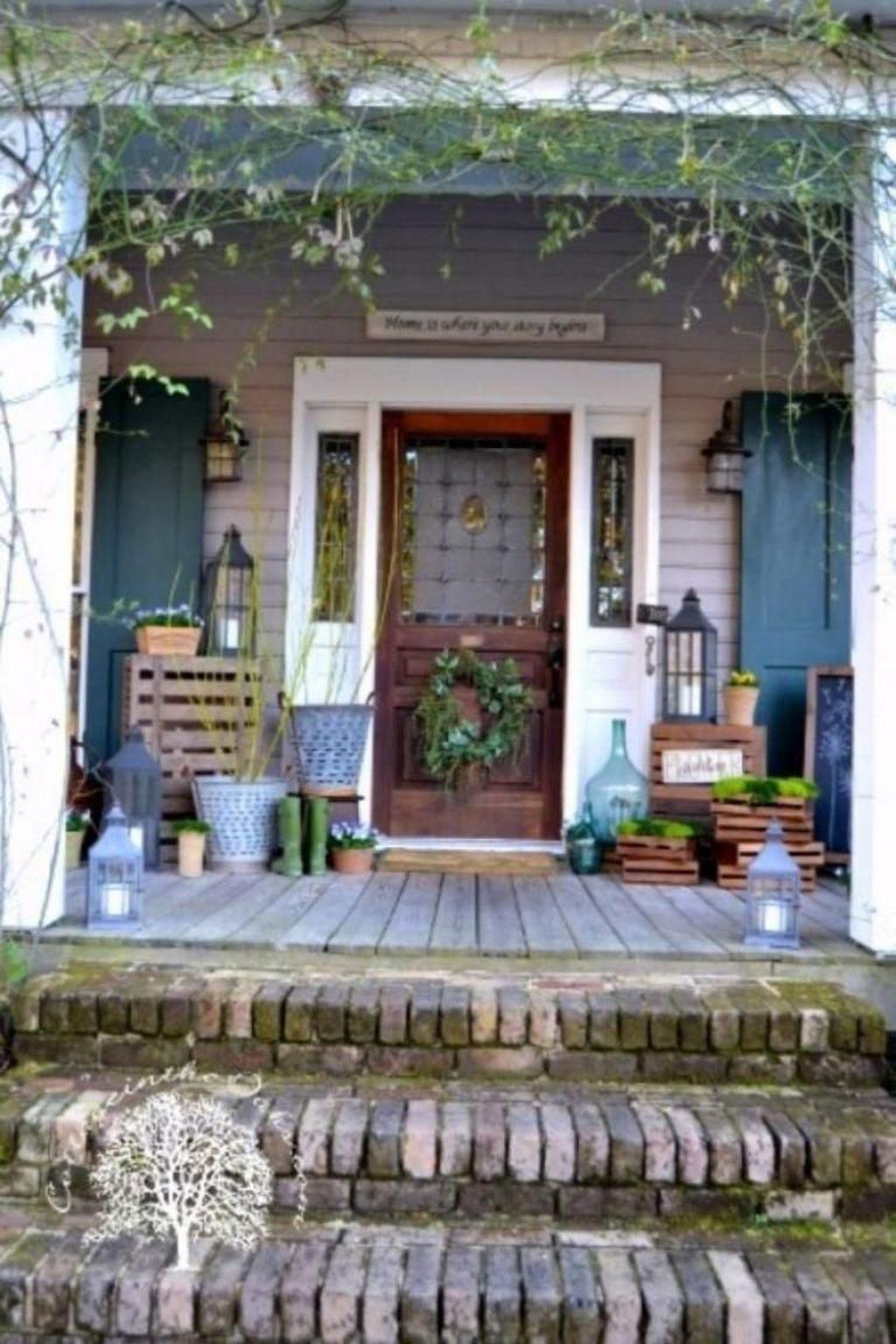 The Best Spring Porch Decoration Ideas 43