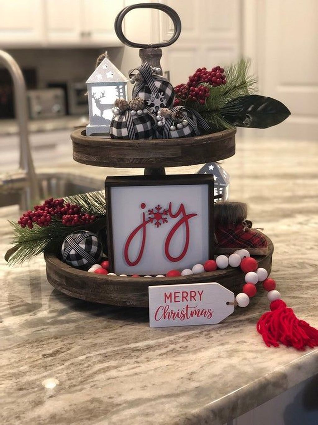 Amazing Christmas Decor For Kitchen Table 02