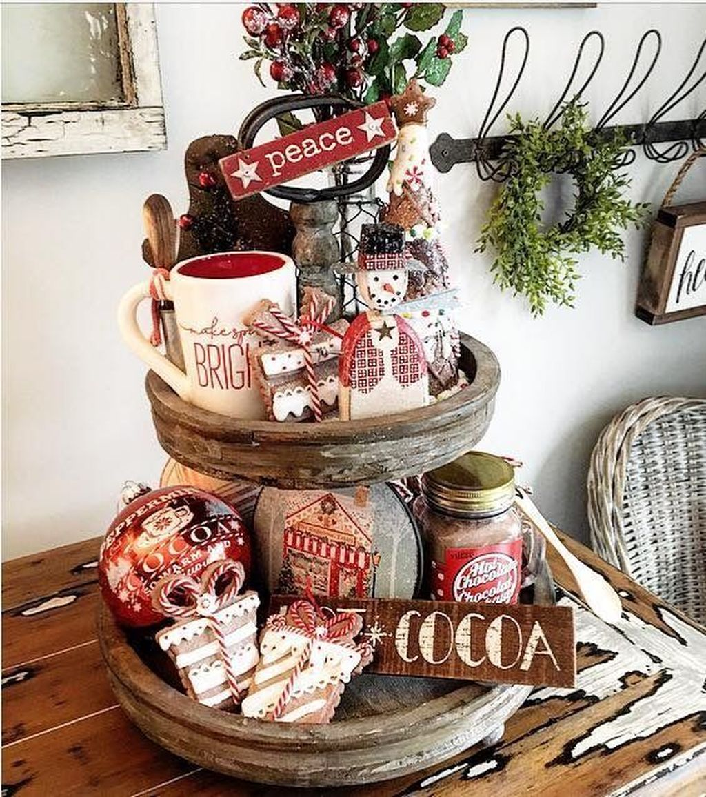 Amazing Christmas Decor For Kitchen Table 03