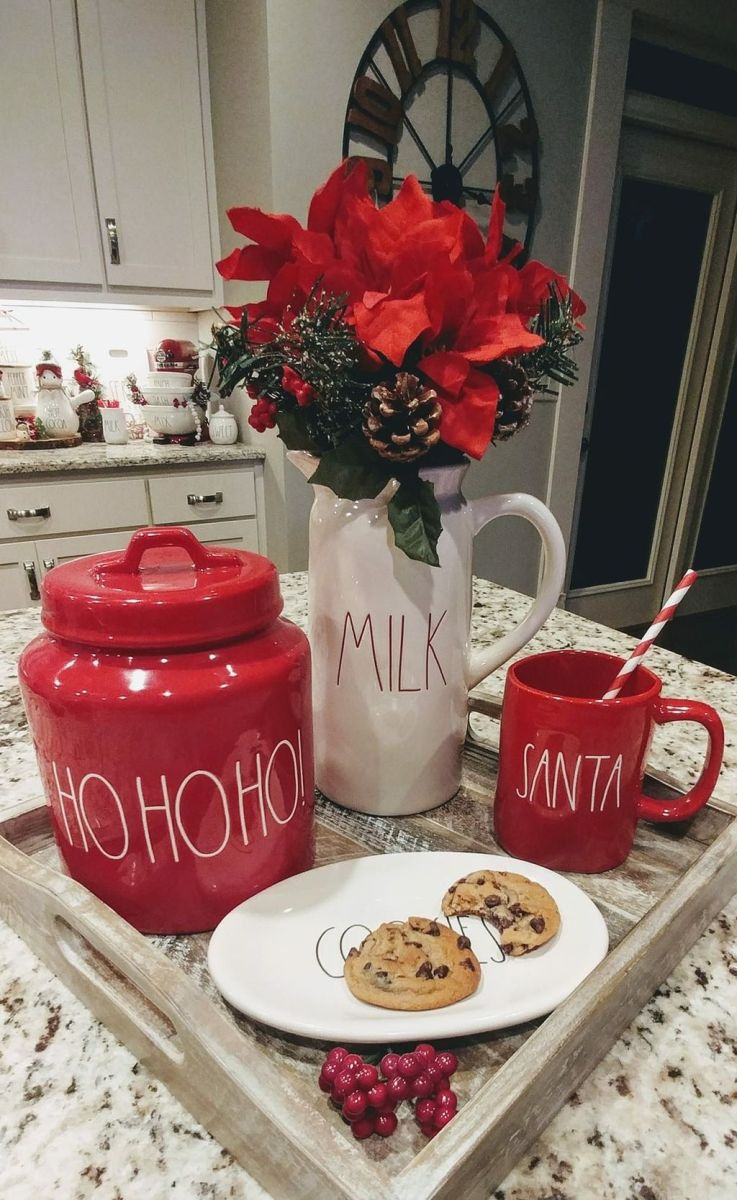 Amazing Christmas Decor For Kitchen Table 07