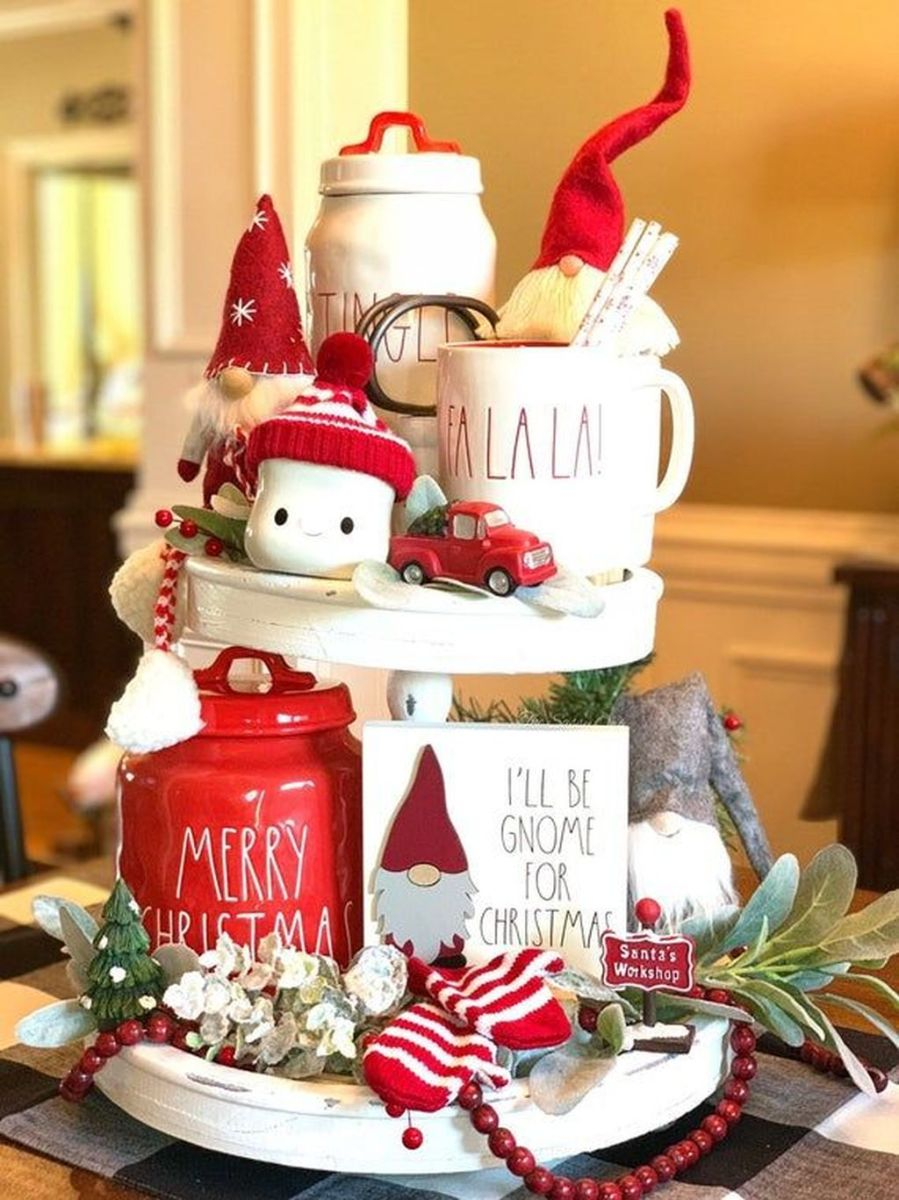 Amazing Christmas Decor For Kitchen Table 10