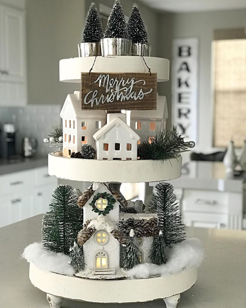 Amazing Christmas Decor For Kitchen Table 23