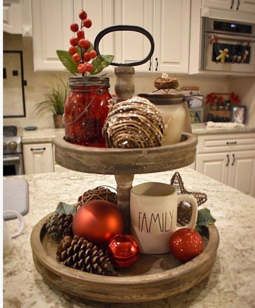 Amazing Christmas Decor For Kitchen Table 26