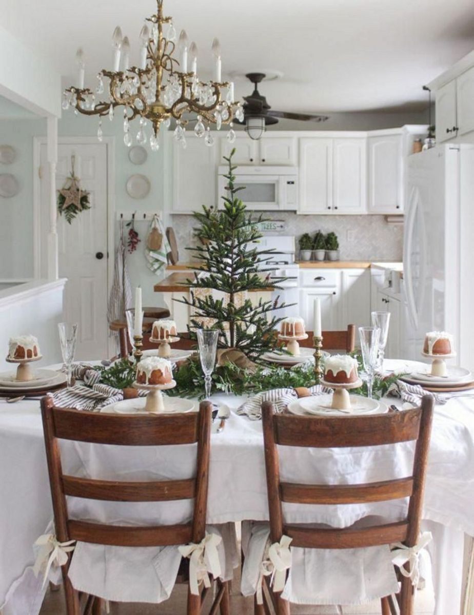Amazing Christmas Decor For Kitchen Table 27