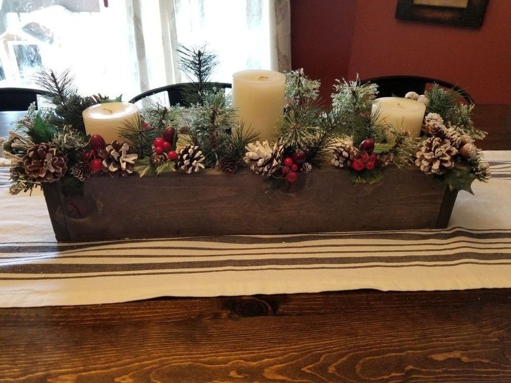 Amazing Christmas Decor For Kitchen Table 38