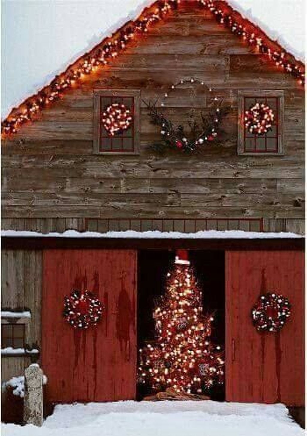 Amazing Christmas Lights Tree Decoration Ideas 08