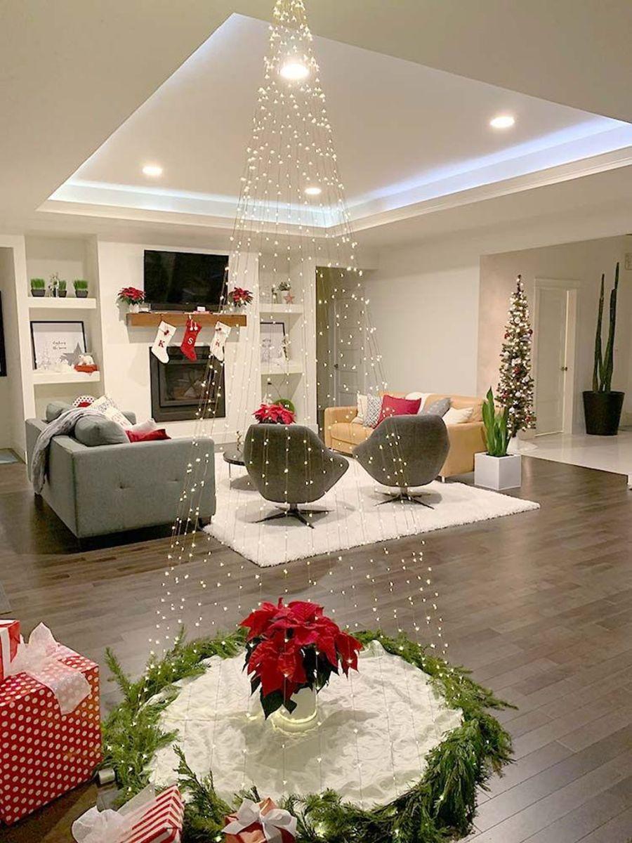 Amazing Christmas Lights Tree Decoration Ideas 19