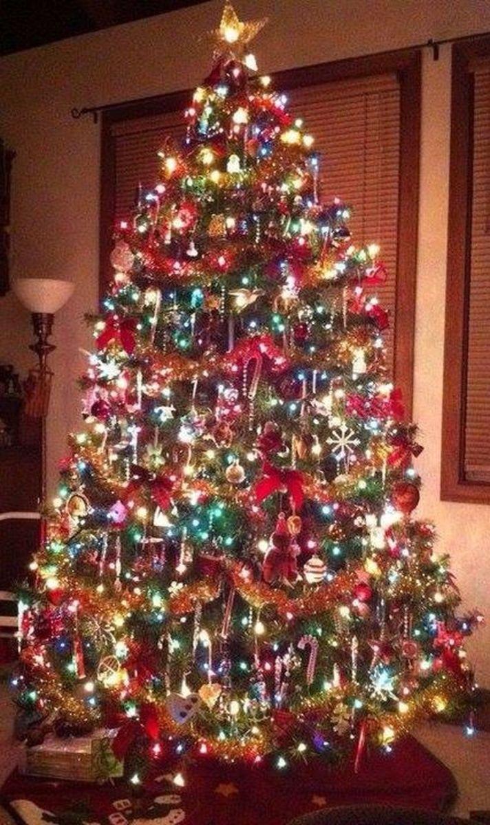 Amazing Christmas Lights Tree Decoration Ideas 21