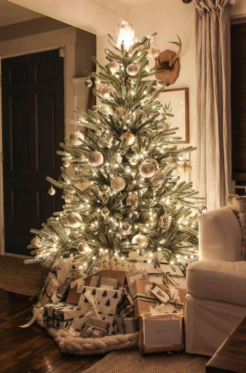 Amazing Christmas Lights Tree Decoration Ideas 40