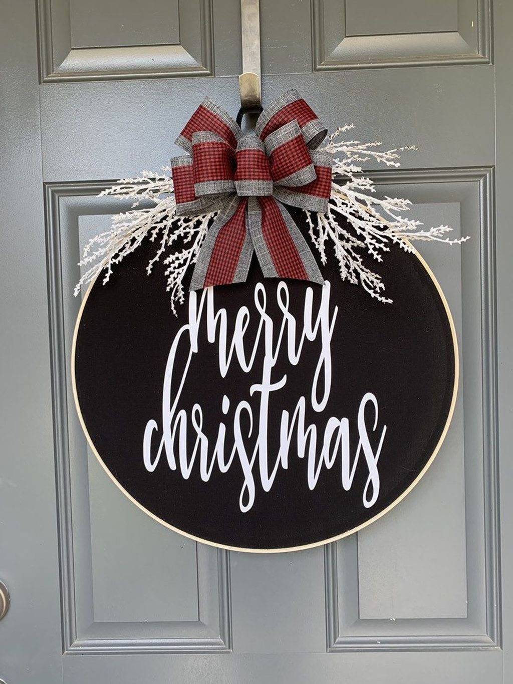 Beautiful Christmas Wreaths Decor Ideas You Should Copy Now 28