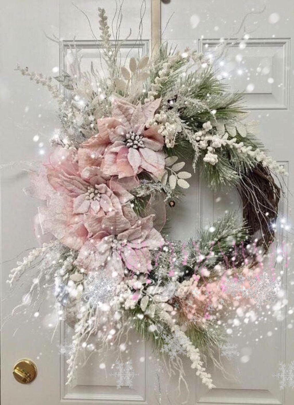 Beautiful Winter Wreaths Design Ideas 02