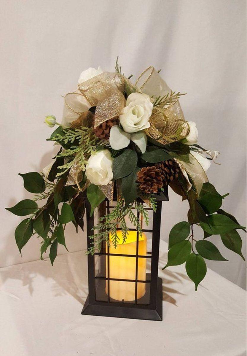 Fabulous Winter Lantern Centerpieces Ideas 03