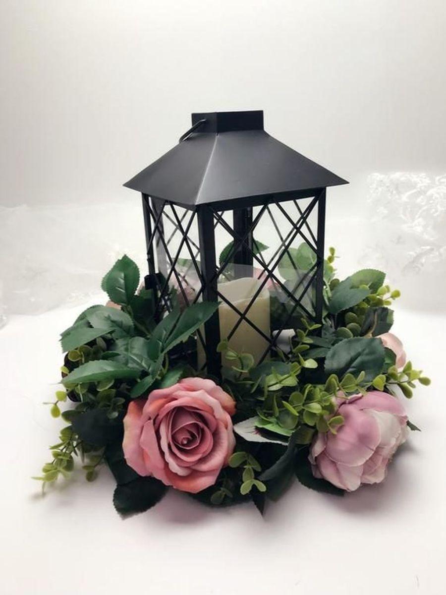 Fabulous Winter Lantern Centerpieces Ideas 07