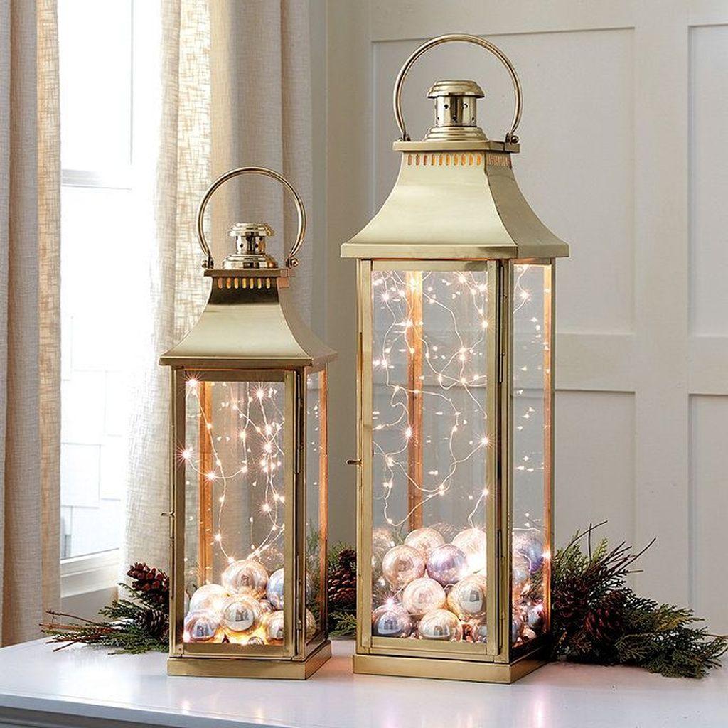 Fabulous Winter Lantern Centerpieces Ideas 12