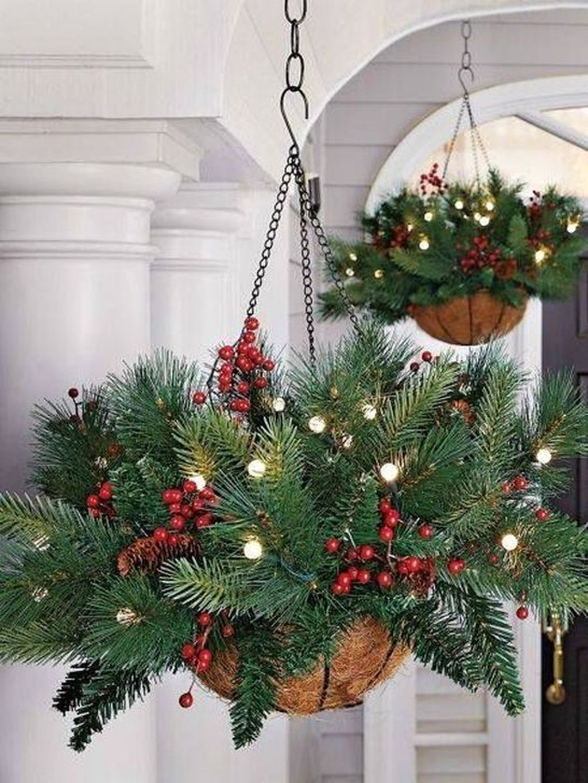 Gorgeous Winter Porch Decor Ideas 23