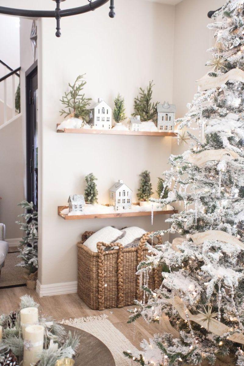 Lovely Winter Wonderland Home Decoration Ideas Look Beautiful 13