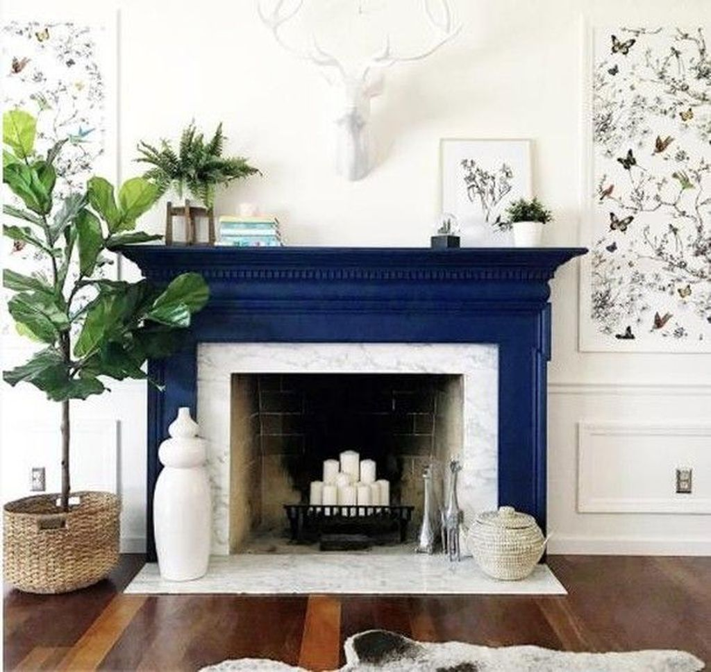 Nice Fireplace Decor Ideas Best For Wintertime 03