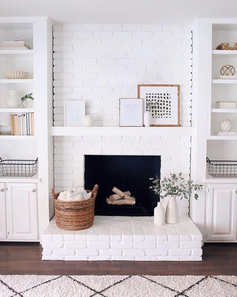 Nice Fireplace Decor Ideas Best For Wintertime 08