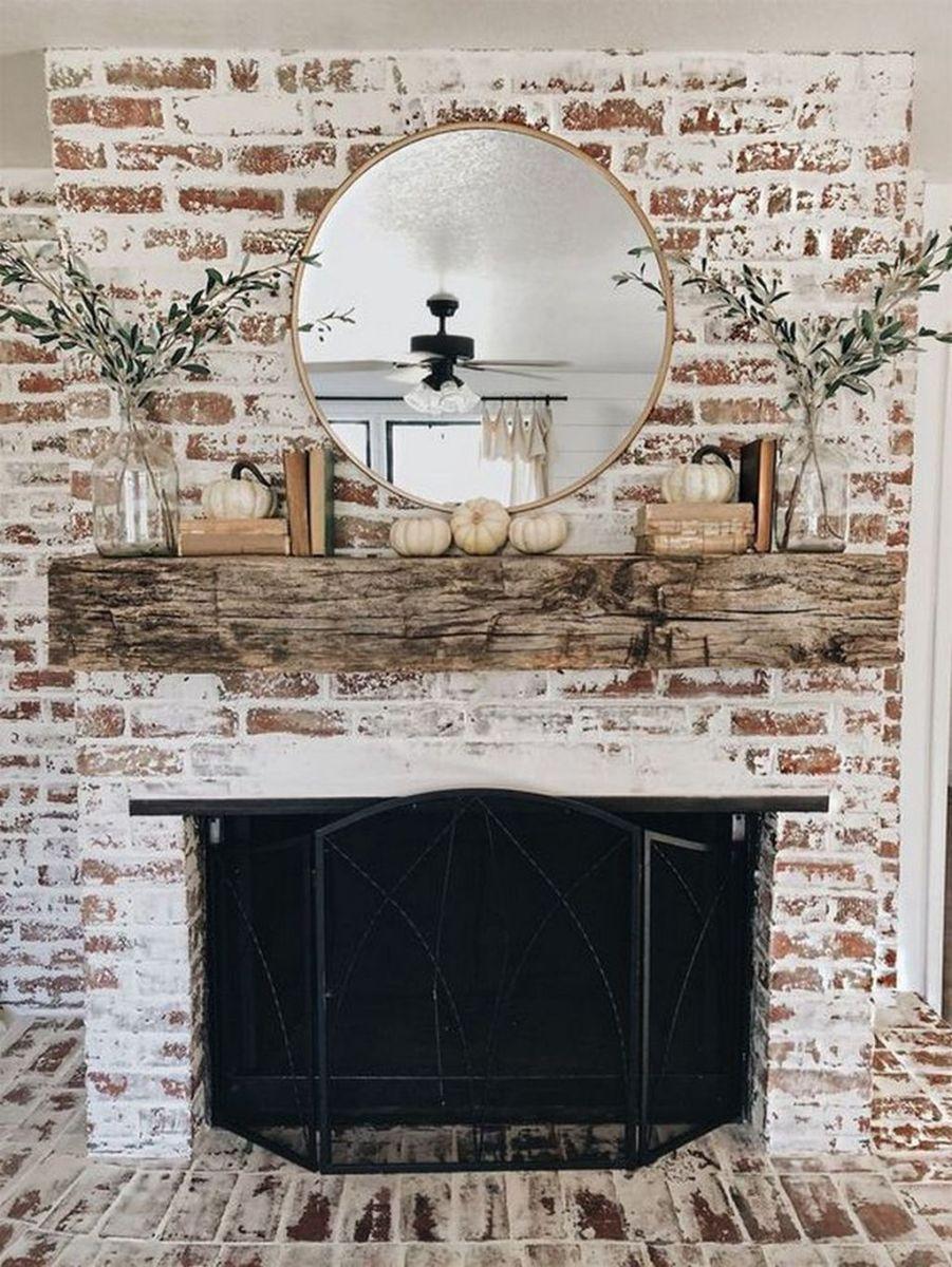 Nice Fireplace Decor Ideas Best For Wintertime 10