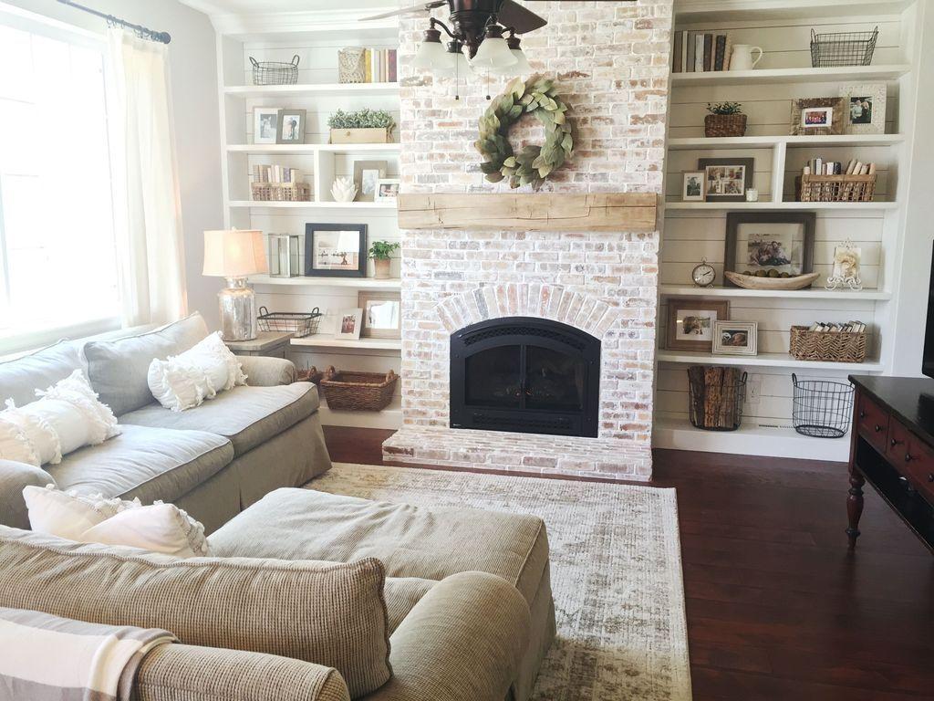 Nice Fireplace Decor Ideas Best For Wintertime 14