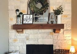Nice Fireplace Decor Ideas Best For Wintertime 41