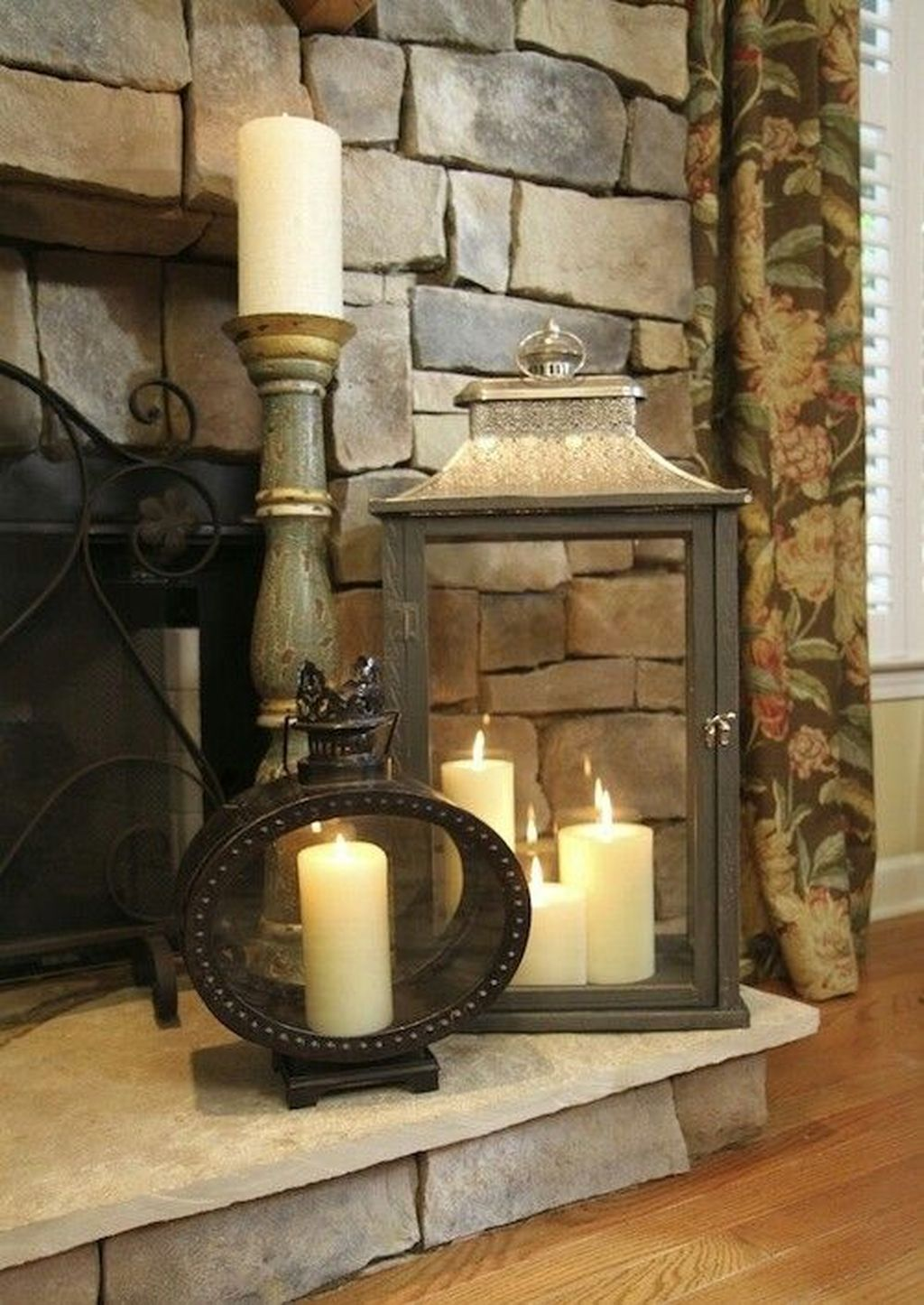 Nice Fireplace Decor Ideas Best For Wintertime 42