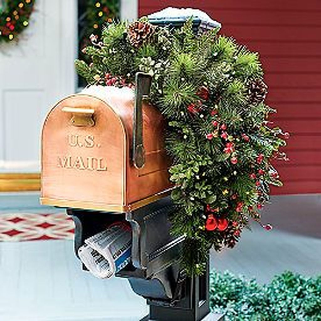 Nice Outdoor Christmas Decorations Perfect For This Winter 25