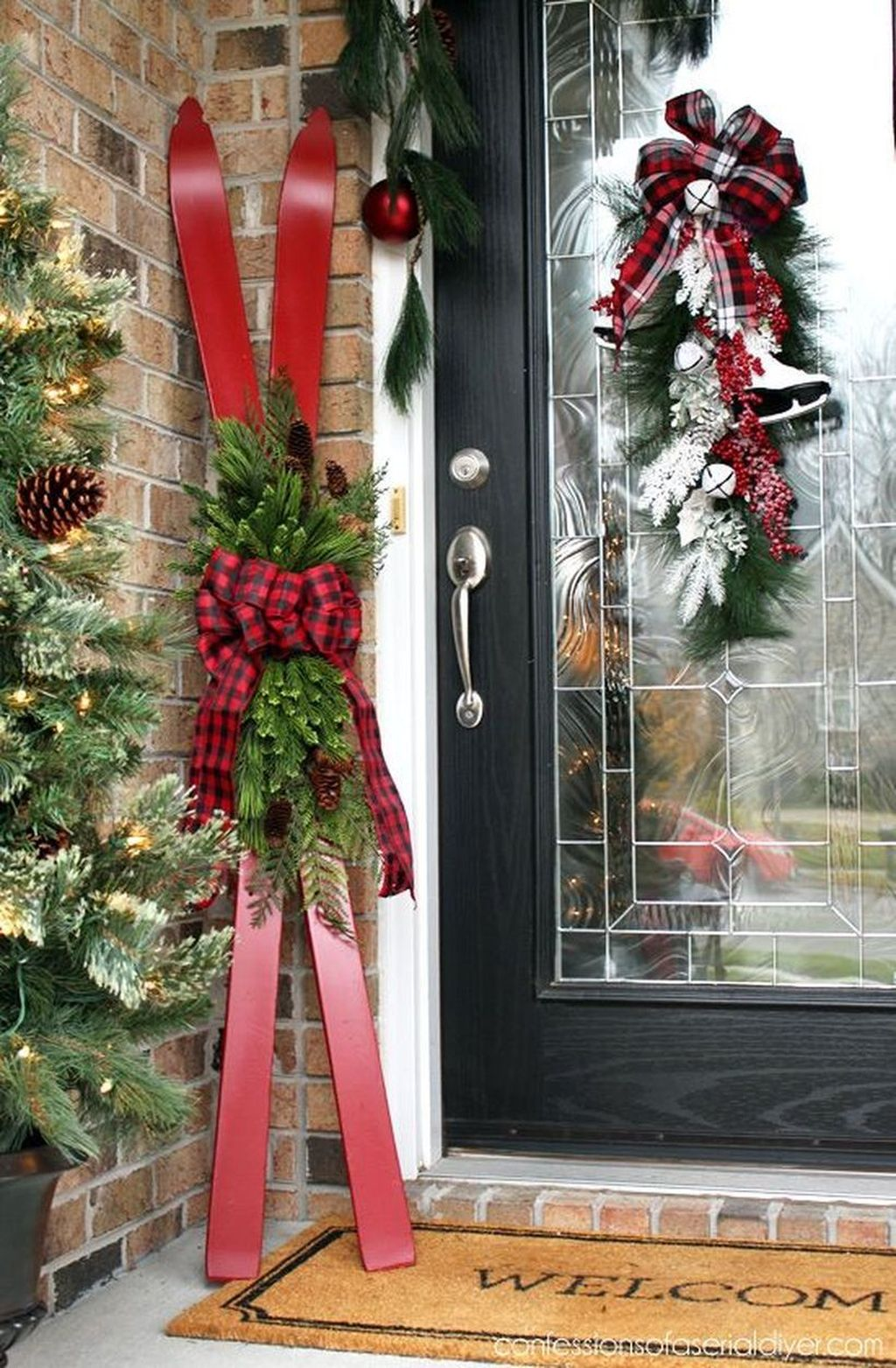 Nice Outdoor Christmas Decorations Perfect For This Winter 26