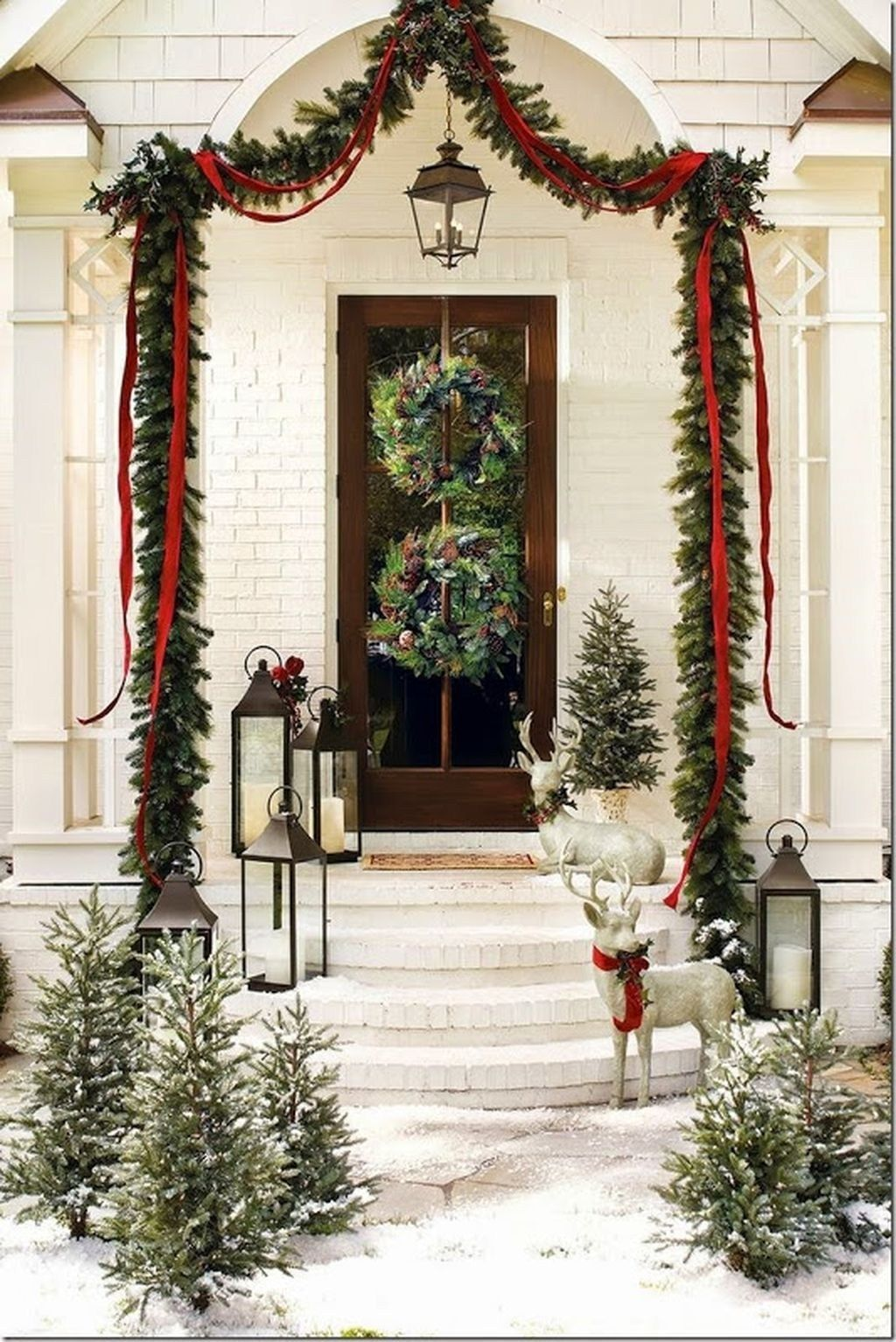 Nice Outdoor Christmas Decorations Perfect For This Winter 33