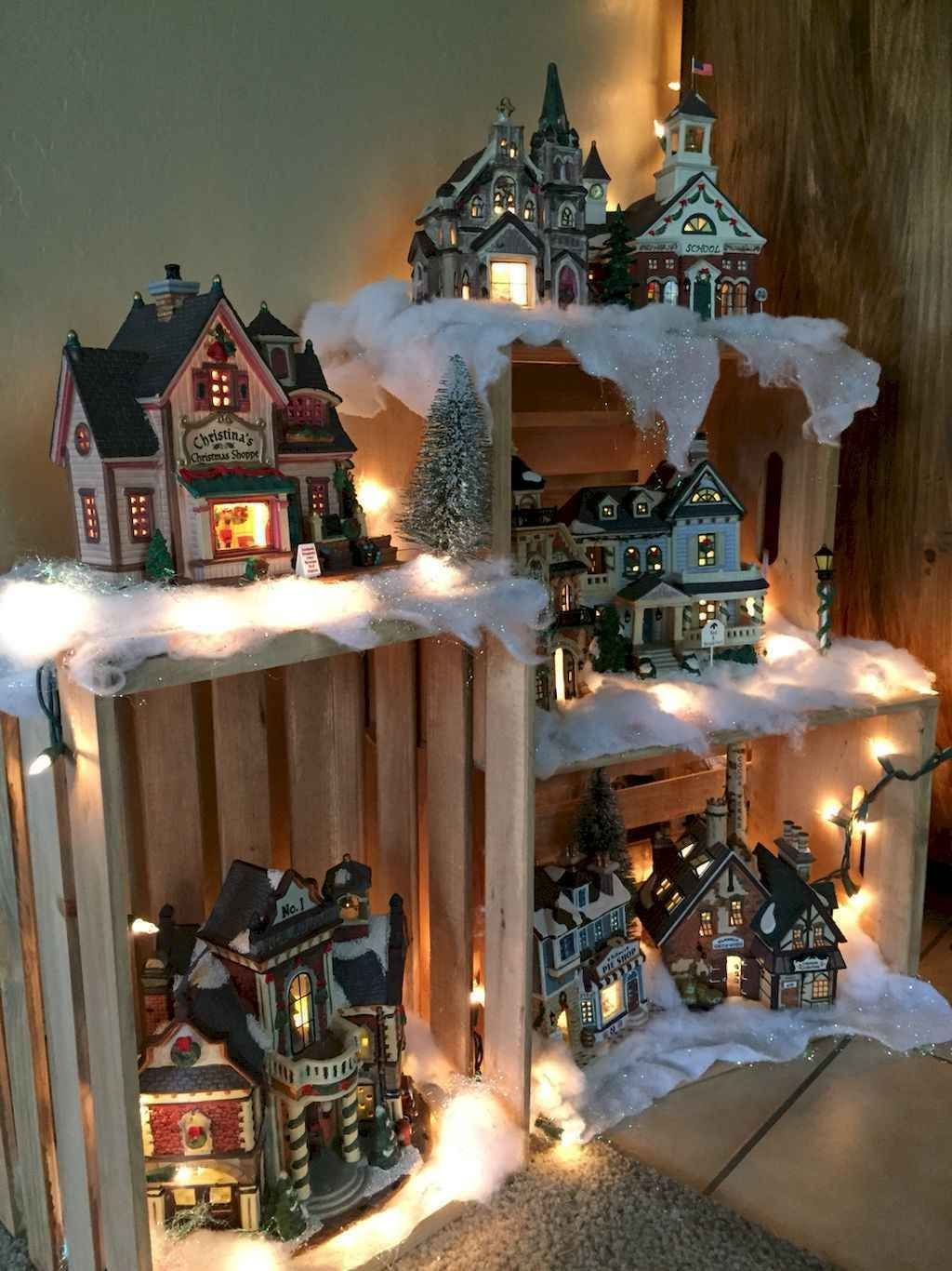Popular Christmas Theme Apartment Decorations 32