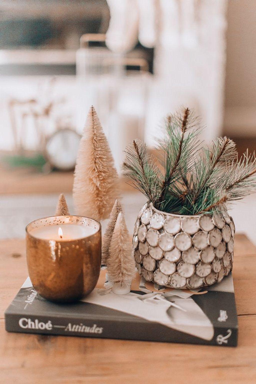 Popular Christmas Theme Coffee Table Decoration Ideas 11