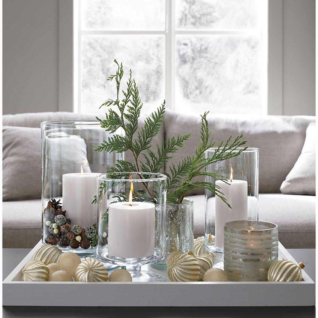 Popular Christmas Theme Coffee Table Decoration Ideas 40