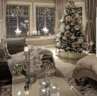Stunning White Christmas Tree Ideas To Decorate Your Interior 42