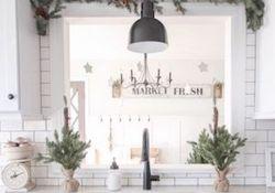 Stunning Winter Theme Kitchen Decorating Ideas 43