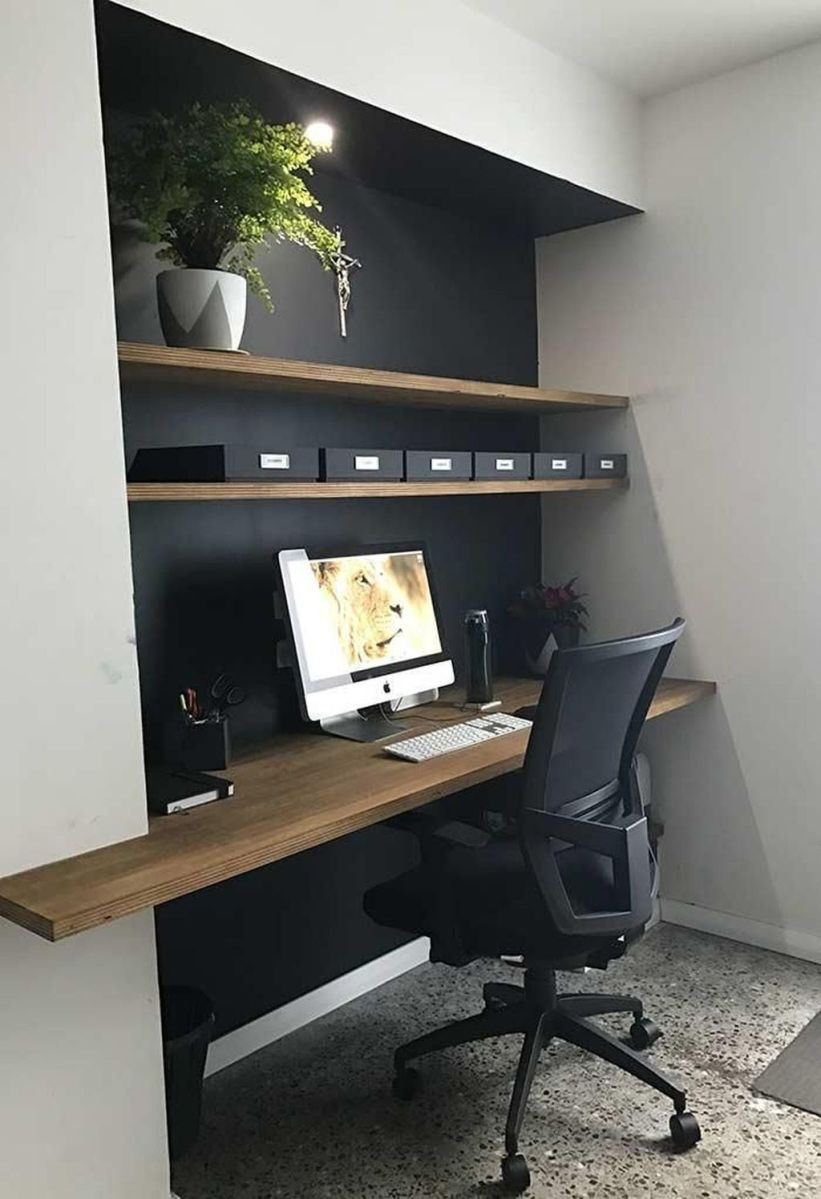 Admirable Modern Home Office Design Ideas That You Like 07