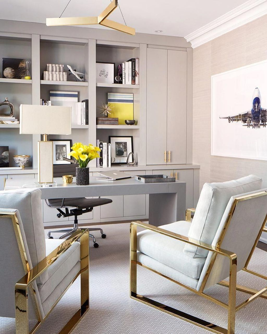 Admirable Modern Home Office Design Ideas That You Like 19
