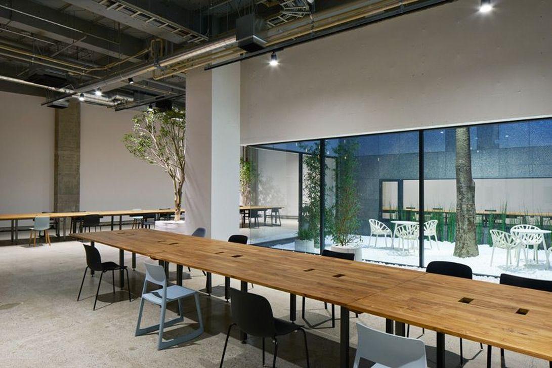 Amazing Open Ceiling Office Design Ideas 07