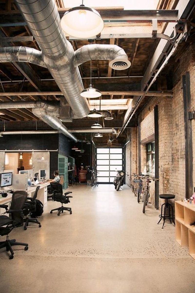 Amazing Open Ceiling Office Design Ideas 13