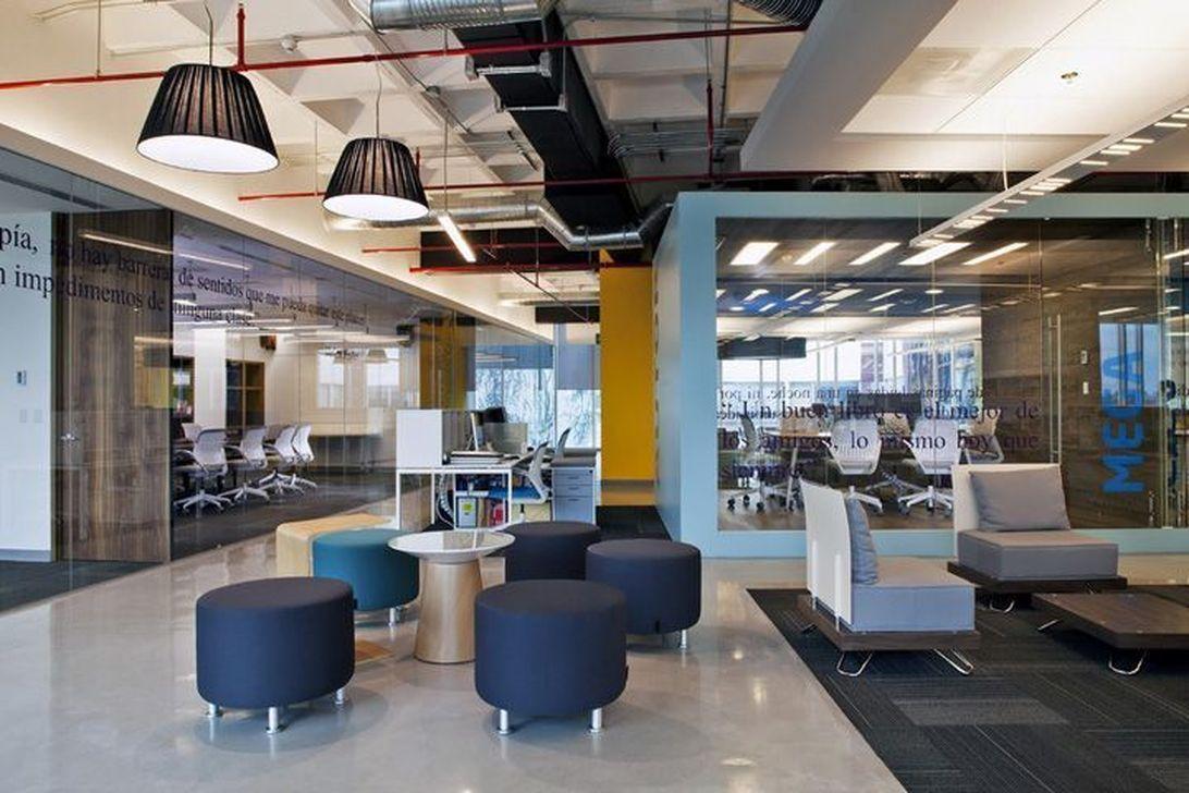 Amazing Open Ceiling Office Design Ideas 17