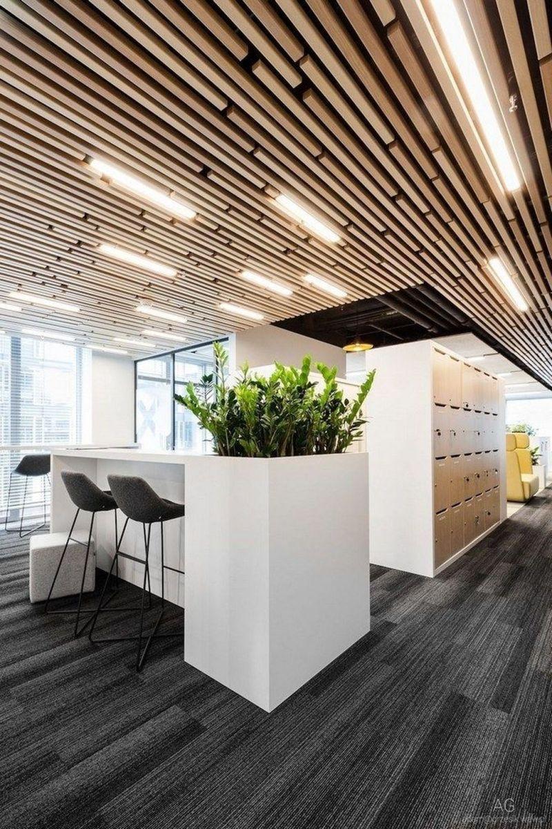 Amazing Open Ceiling Office Design Ideas 19