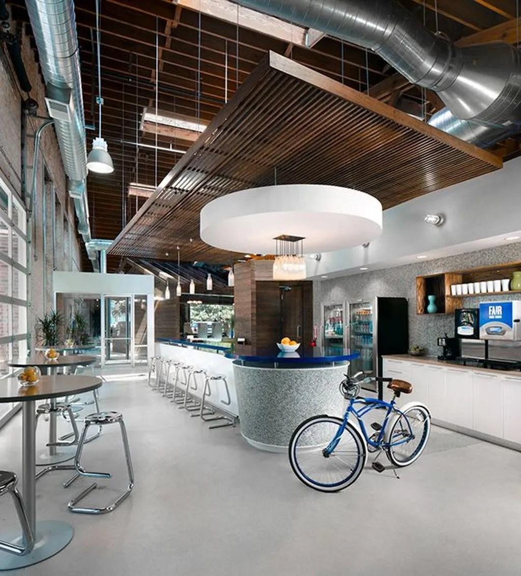Amazing Open Ceiling Office Design Ideas 24