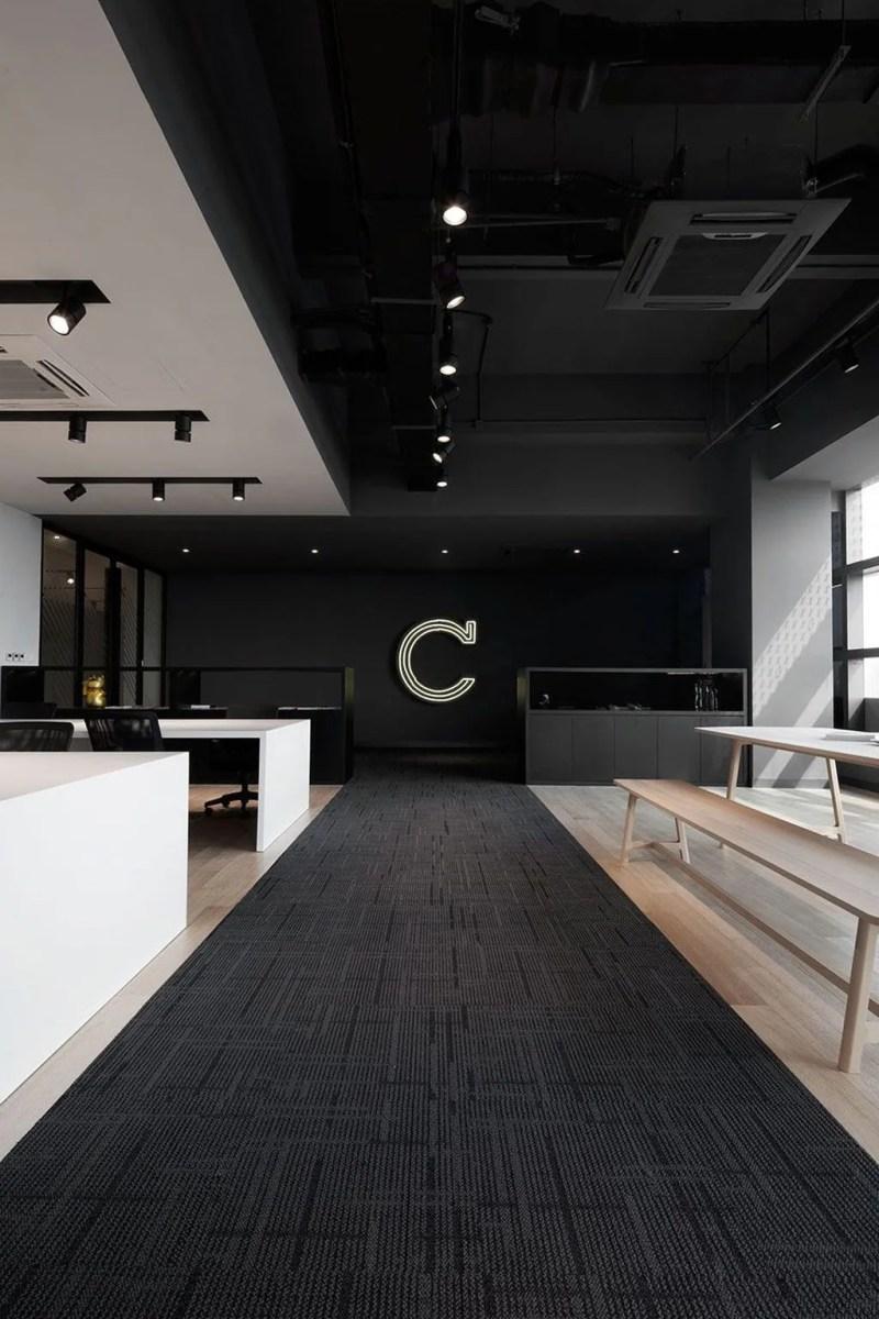 Amazing Open Ceiling Office Design Ideas 29