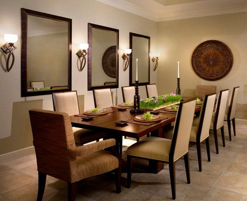 Amazing Wall Mirror Design Ideas For Dining Room Decor 10