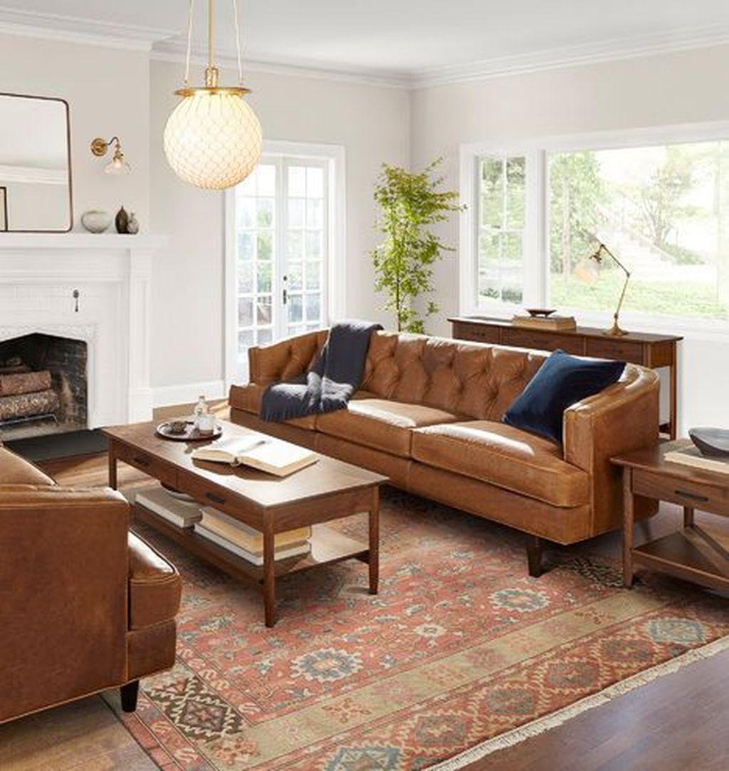 Awesome Leather Sofa Design Ideas 12
