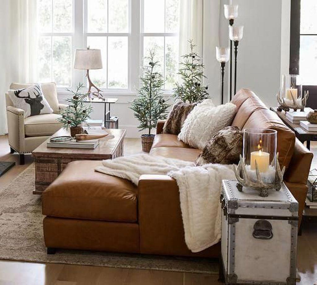 Awesome Leather Sofa Design Ideas 23