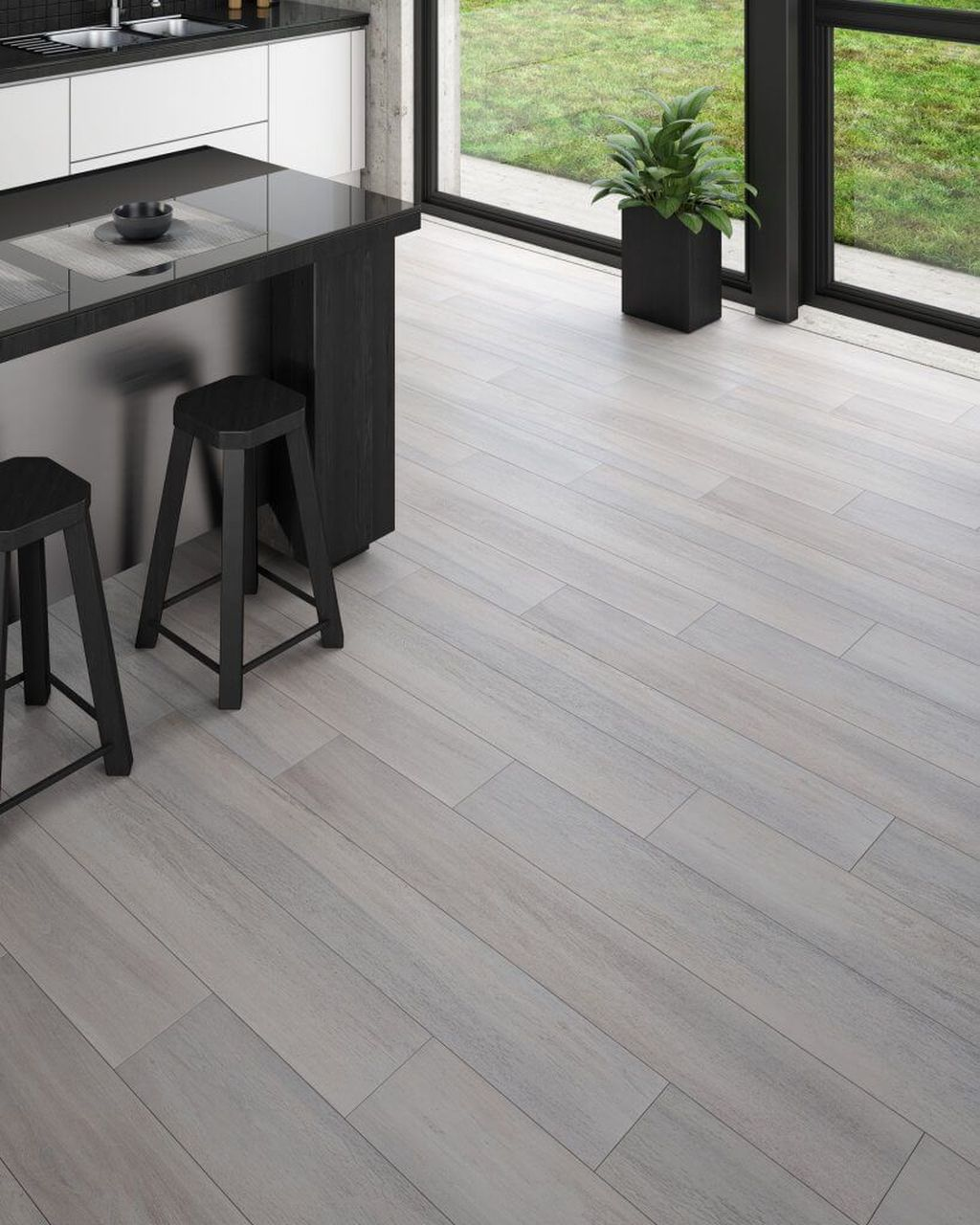 Awesome Wooden Tiles Flooring Ideas 14