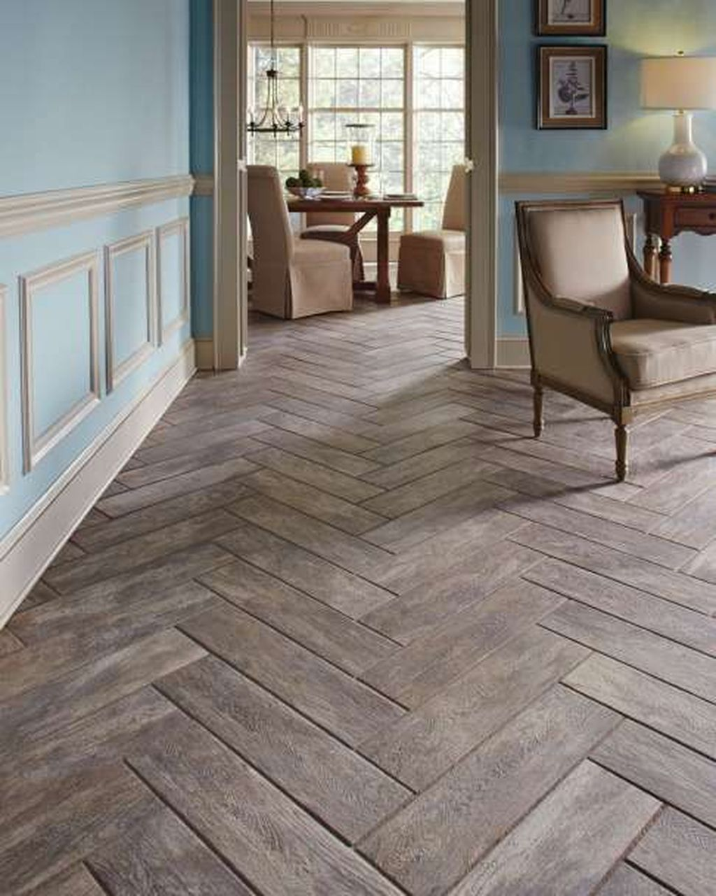 Awesome Wooden Tiles Flooring Ideas 25