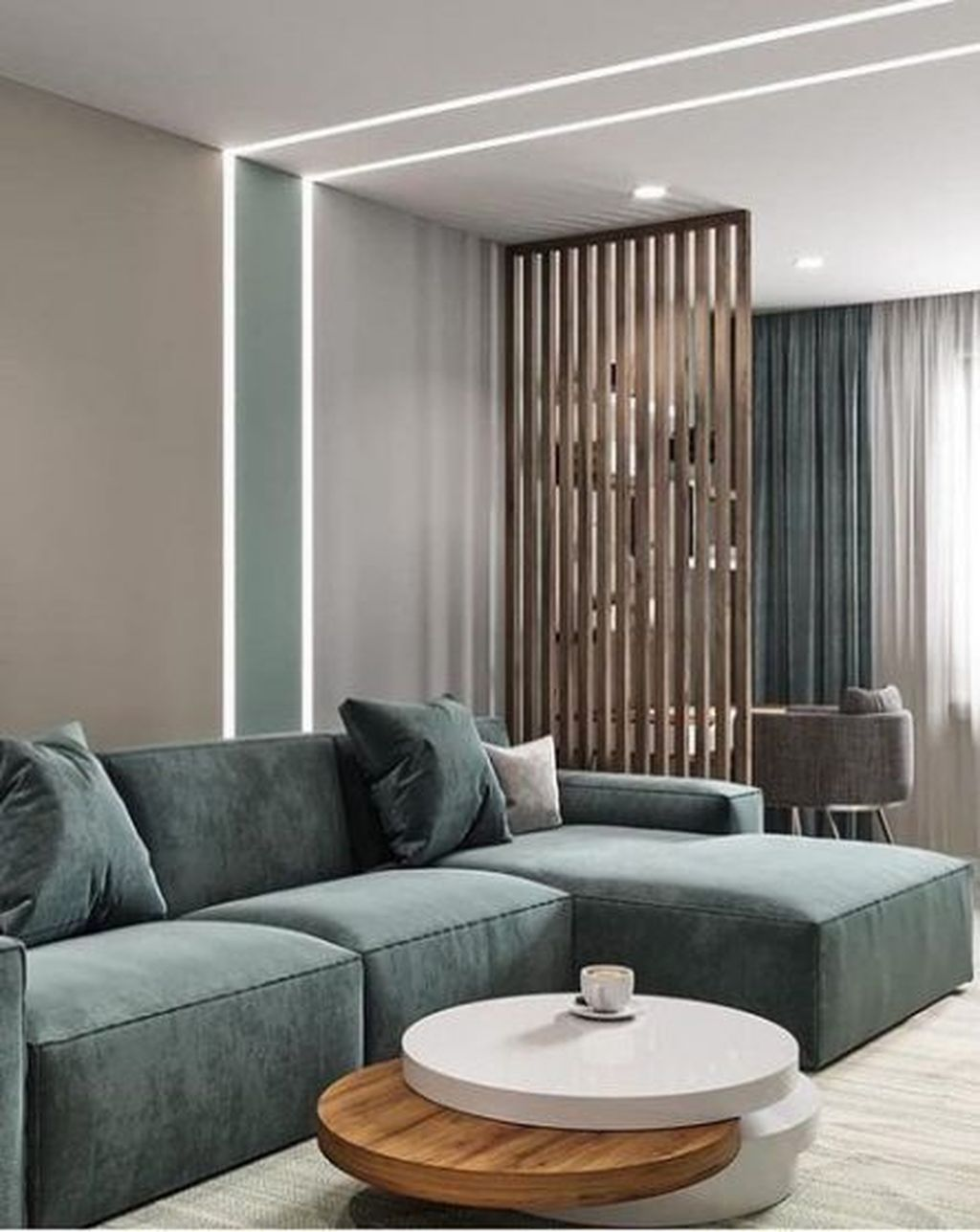 Beautiful Contemporary Living Room Decoration Ideas 15