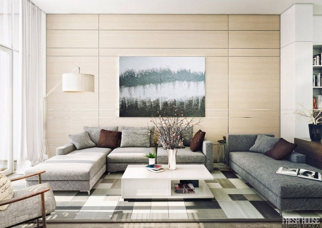 Beautiful Contemporary Living Room Decoration Ideas 17